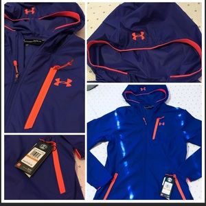 UNDER ARMOUR NWT($100) WINDBREAKER ZIP SM❤️‼️